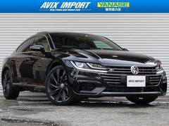 VW アルテオンRライン 4モーションアドバンス ガラスSR 黒革 新車保証