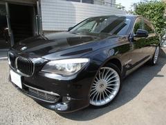 BMW740i プラスP 1オーナー アルピナ21AW マフラー