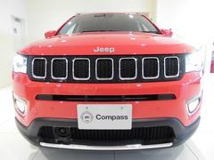 クライスラージープ コンパスリミテッド 本革電動シート ナビTV ETC 登録済未使用車