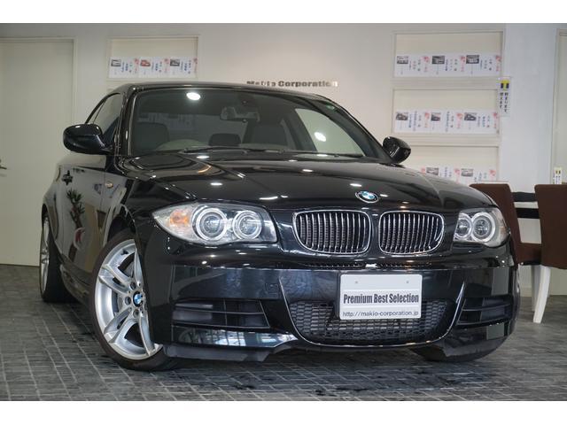 BMW 135i Mスポーツ1オナ黒革HID純正HDDナビ18AW