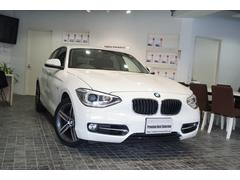 BMW120i スポーツ1オナ黒革パワーシートHDDナビ地デジ禁煙