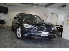 BMW740i1オナプラスパッケージHID黒革D記録簿5枚SR禁煙