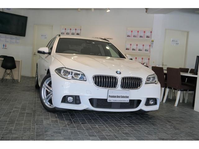 BMW 523dツーリング Mスポーツ 1オナOPLED記録4枚禁煙