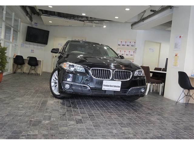 BMW 5シリーズ 523dラグジュアリー1オナACC黒革SRBカメラ純18AW