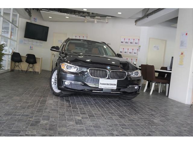 BMW 320dツーリング ラグジュアリー 1オーナー アダプティブクルーズコントロール ブラウンレザーパワーシ-トヒーター付き 電動Rゲ-ト Bカメラ