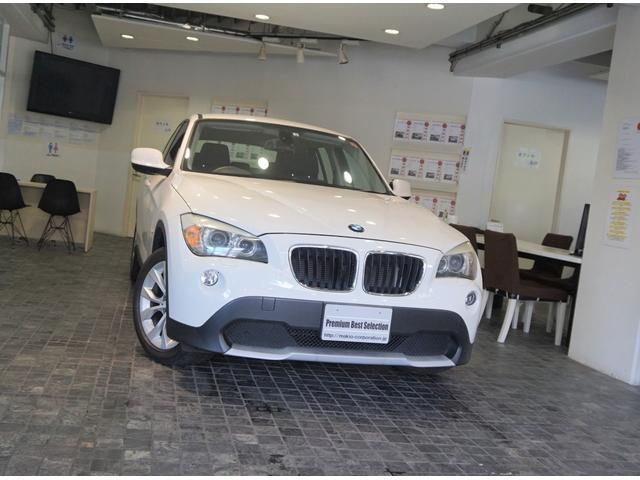 BMW X1 sDrive 18i 1オーナー ディーラー記録7枚 Xライン OP17アルミ HID ミラ-ETC