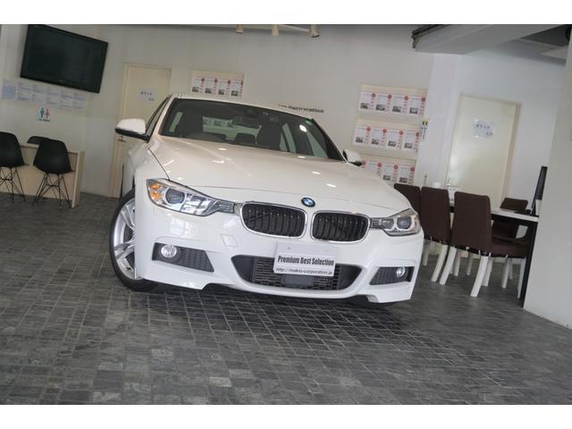 BMW 320d Mスポーツ 1オーナー ディーラー整備記録6枚 ACC ヘッドアップディスプレイ 純正ドライブレコーダー