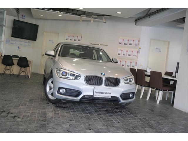 BMW 118i スポーツ 1オーナー ディーラー整備記録4枚 バックカメラ クルーズコントロール LEDヘッド 禁煙