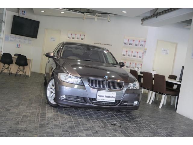 BMW 323i ハイラインパッケージ 1オーナー ディーラー整備記録13枚 黒革シート キセノン ETC 禁煙