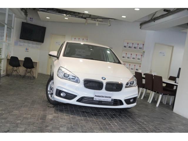 BMW 2シリーズ 218dアクティブツアラー 1オーナー コンフォートパッケージ ナビ更新済 バックカメラ 禁煙