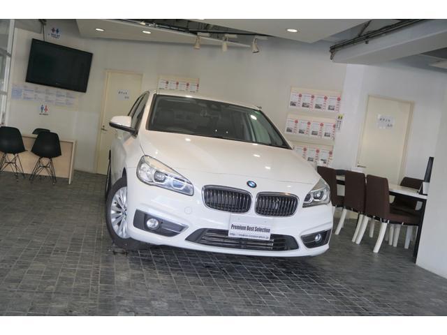 BMW 2シリーズ 218iアクティブツアラー ラグジュアリー 1オーナー アクティブクルーズコントロール ヘッドアップディスプレイ ブラックレザーシート バックカメラ