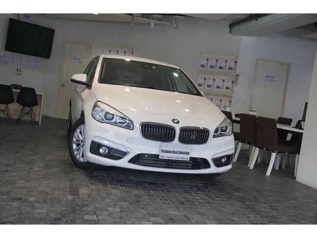BMW 218dアクティブツアラー ラグジュアリー 1オーナー ACC ヘッドアップディスプレイ 電動テ-ル バックカメラ ETC