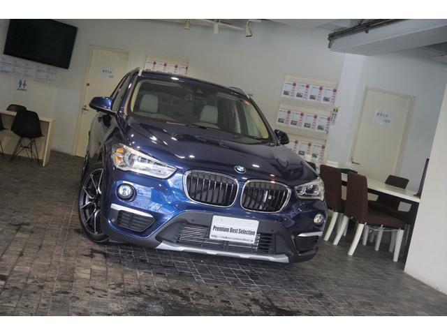 BMW X1 xDrive 18d xライン 1オーナー 新車保証継承 アクティブクルーズコントロール ヘッドアップディスプレイ RAYS19AW