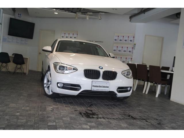 BMW 1シリーズ 120i スポーツ ディーラー整備記録簿H25.H26.H27.H28.H29.R1有 ナビゲーションパッケージ コンフォートアクセス オプションカラー