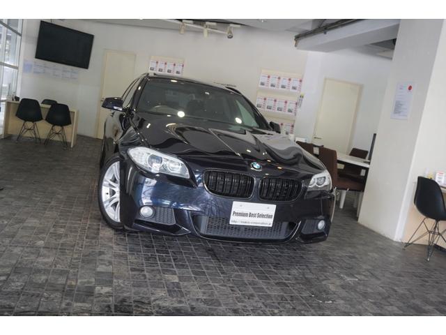 BMW 5シリーズ 523iツーリング Mスポーツパッケージ ディーラー整備記録H24.H25.H26.H27.H28.H29.H30.R1有 サンルーフ BMW純正前後ドライブレコーダー Supersprintマフラー