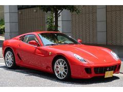 フェラーリ 599D車 チャレンジホイール ベージュインテリア レッドキャリパ