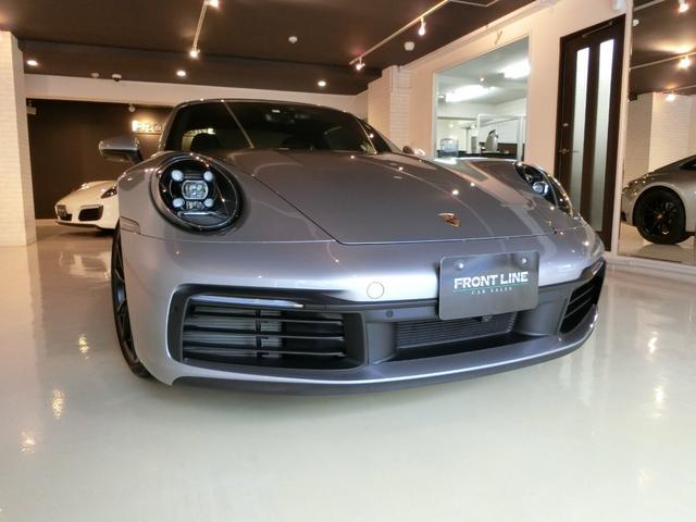ポルシェ 911  911カレラ GTシルバースポーツクロノスポーツエグゾースト電動SRレーンアシスト・BOSE・カレラSホイール(ブラック)