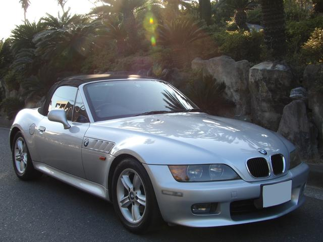 BMW Z3ロードスター 2.0 ETC レザーシート スペアキー 取り説付き 手動オープン シルキー6 パワーシート