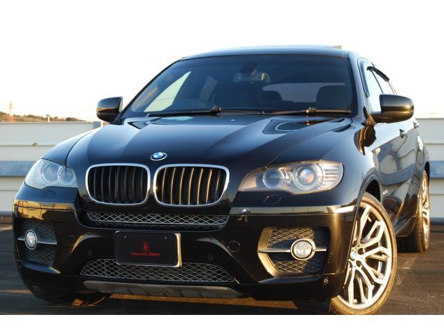 BMW X6 xDrive 35i ブラックレザー サンルーフ Mパフォーマンス21インチAW