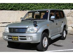 ランドクルーザープラドTX 4WD TXワイド 背面タイヤ
