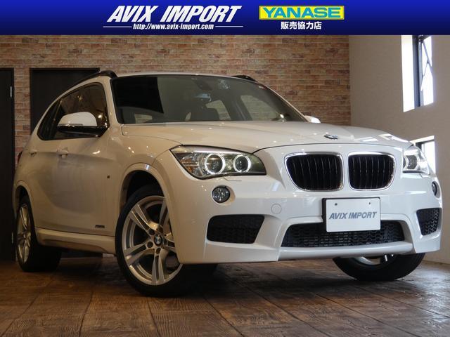BMW X1 xDrive 20i Mスポーツ 後期型 バイキセノンHL 純正HDDナビMSV コンフォートアクセス 18AW 禁煙車 フルタイム4WD