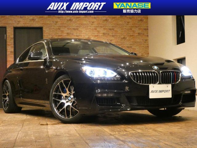 BMW 6シリーズ 640iクーペ コンフォートPKG 直6ターボEG SR 淡革 シートヒーター ベンチレーション ソフトクロージャー クルーズコントロール LEDライト HDDナビ地デジBカメラ 社外19AW 4本出しマフラー 禁煙