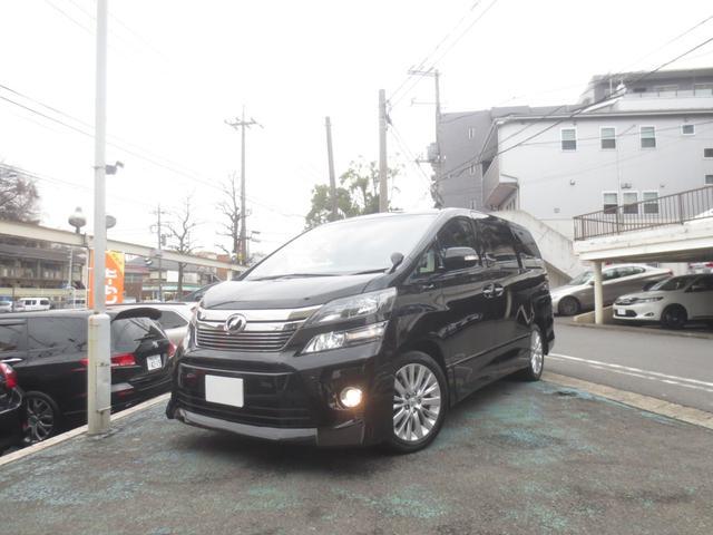 トヨタ 2.4Z 8乗 両電動ドア 8インチナビTV革調シートカバー