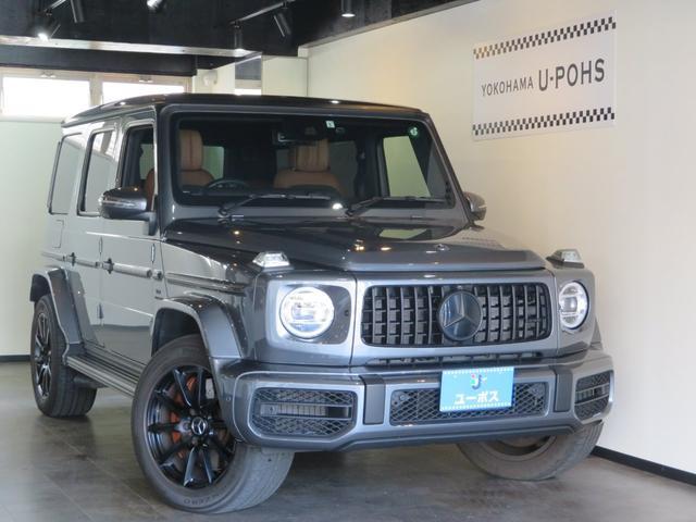 メルセデスAMG G63 4WD セレナイトグレー ブラック塗装20AW