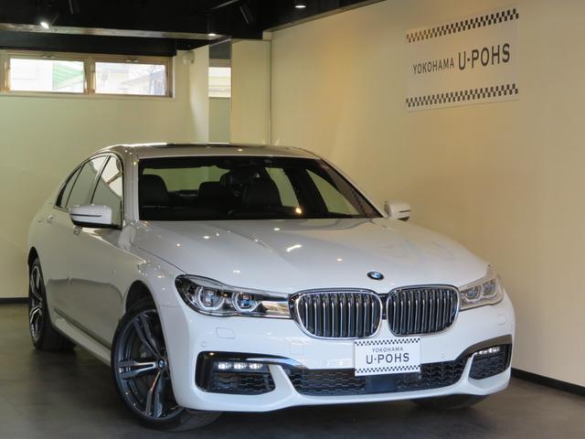 BMW 750i Mスポーツ 正規D車/アルピンホワイト/Mスポーツ/インテリジェントセーフティー/BMWレーザーライト/ハーマンカードン/前後シートヒーター/ベンチレーションシート/マッサージシート