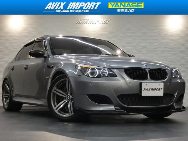 BMW M5 SMG 右H正規D車 SR白革 HUD マフラー 禁煙