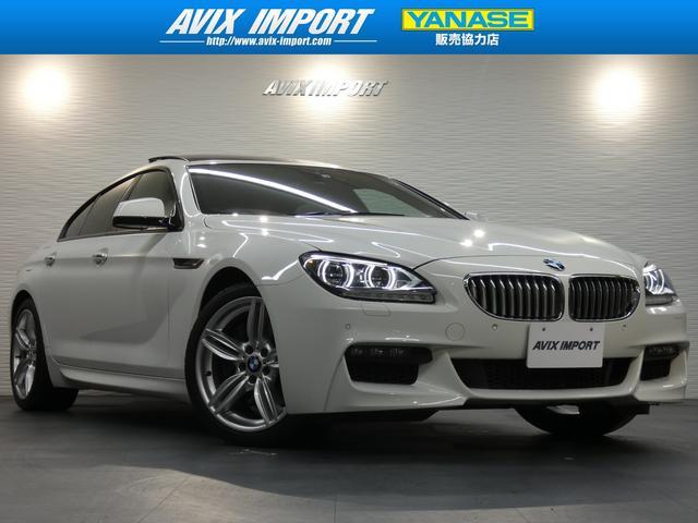 BMW 650iGC MスポーツP SR 白革 LEDライト HUD
