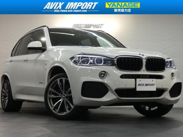 BMW xDrive35d Mスポーツ セレクトP 茶革 7人ACC