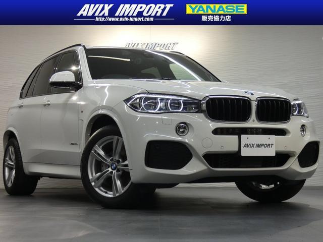 BMW X5 xDrive35d Mスポーツ セレクト&プライムPKG パノラマSR 茶革 7人乗り 全席シートヒーター 純正HDDナビ harman/kardonサウンド HUD&全周カメラ 液晶メーター LCW Dアシストプラス LEDライト 禁煙
