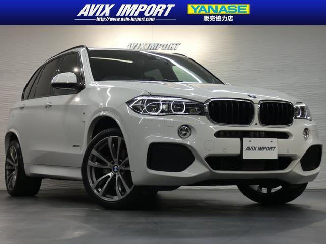 BMW X5 xDrive35i Mスポーツ セレクトPKG パノラマSR 全席シートヒーター 純正HDDナビ地デジ PDC&全周カメラ ACC インテリジェントS LEDライト 純正20インチAW