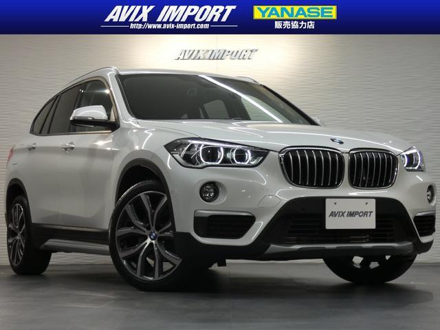 BMW X1 sDrive 18i xライン 茶革 シートヒーター 純正HDDナビBカメラ PDC&パーキングアシスト HUD ACC Dアシストプラス LEDライト 電動Rゲート 社外地デジ 純正OP19AW 禁煙 1オーナー 新車保証