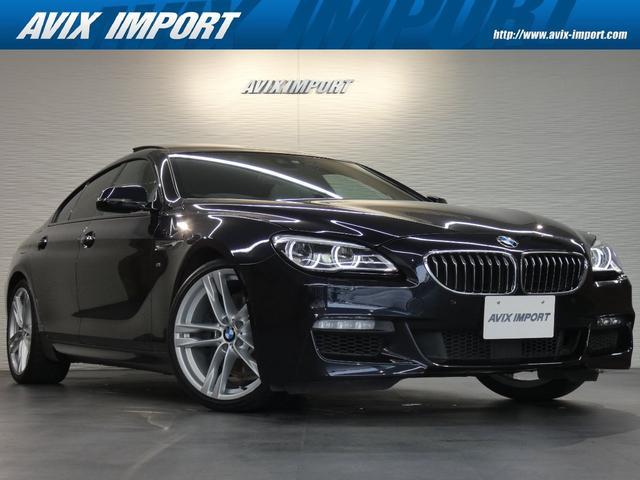BMW 6シリーズ 640iグランクーペ Mスポーツ 後期型 アイボリー革 ガラスSR 純正HDDナビ地デジトップビューカメラ HUD 液晶メーター Dアシストプラス LCW LEDライト 純正20AW