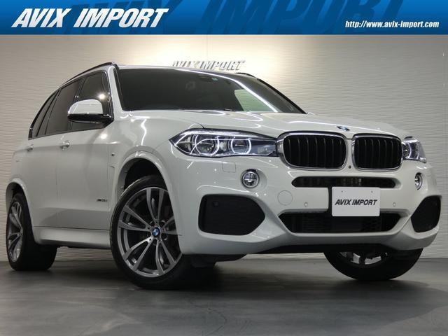 BMW xDrive 35d Mスポーツ セレクトPKG 7人乗り パノラマSR 黒革 全席シートヒーター 純正HDDナビ地デジ harman/kardonオーディオ Dアシストプラス&LCW 液晶メーター LEDヘッドライト 純正20インチAW 禁煙車両