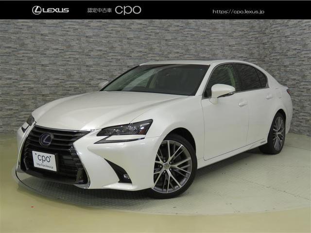 レクサス GS300h バージョンL 認定中古車CPO ムーンルーフ