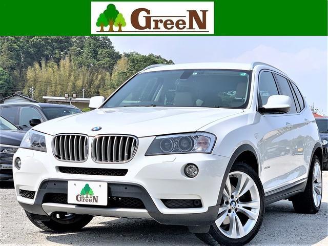 BMW xDrive 35i 3Lターボ ベージュ本革 キセノン シートヒーター 純正HDDナビ 地デジ バック&トップビューカメラ パークセンサー 純正19AW コンフォートアクセス 電動リアゲート アイドリングストップ 禁煙