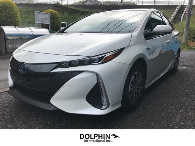 米国トヨタ プリウスプライム 2020 Apple carplay