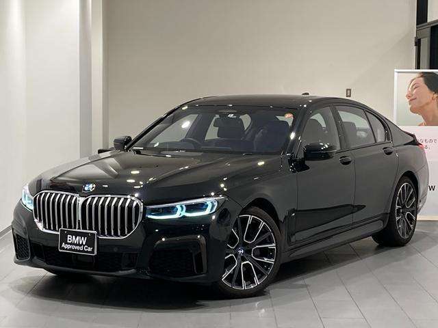 BMW 740d xDrive Mスポーツ サンルーフ 弊社デモンストレーションカー 禁煙車 20インチAW レーザーライト コンフォートアクセス ソフトクローズ ジェスチャーコントロール 全方位カメラ 全方位センサー 全席シートヒーター