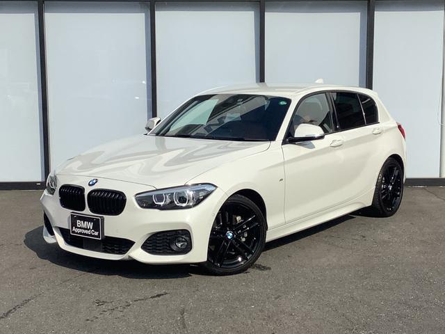 BMW 1シリーズ 118i Mスポーツ エディションシャドー 専用18インチアルミホイール LEDヘッドライト コンフォートアクセス インテリジェントセーフティ マルチファンクションステアリング バックカメラ アダプティブクルーズコントロール 茶革シート 禁煙