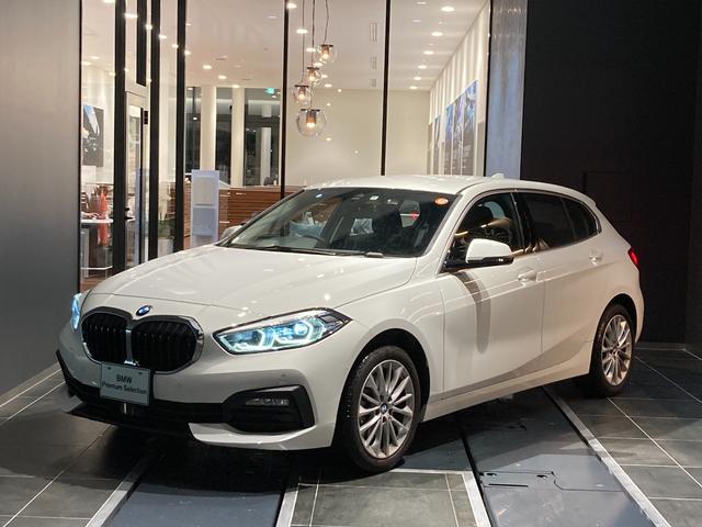 BMW 118d プレイ エディションジョイ+ 17インチアルミホイール LED コンフォートアクセス オートトランク ワイヤレスチャージ 前後PDC パーキングアシスト リバースアシスト マルチファンクションステアリング 禁煙車 デモカー