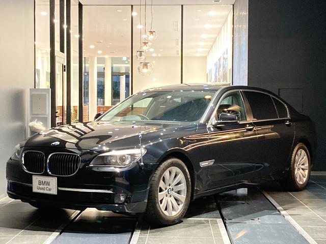 BMW 7シリーズ 740Li 弊社下取り1オーナー車両 禁煙 サンルーフ ソフトクローズ ブラックレザーシート コンフォートアクセス シートクーラー オートトランク 地デジ ミラーETC 18インチアルミホイール