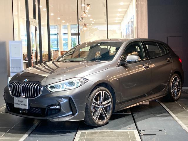 BMW 1シリーズ 118i Mスポーツ 正規認定中古車 ナビパッケージ コンフォートパッケージ アクティブクルーズコントロール 前後センサー ドライビングアシスト 後退アシスト 弊社デモカー 禁煙