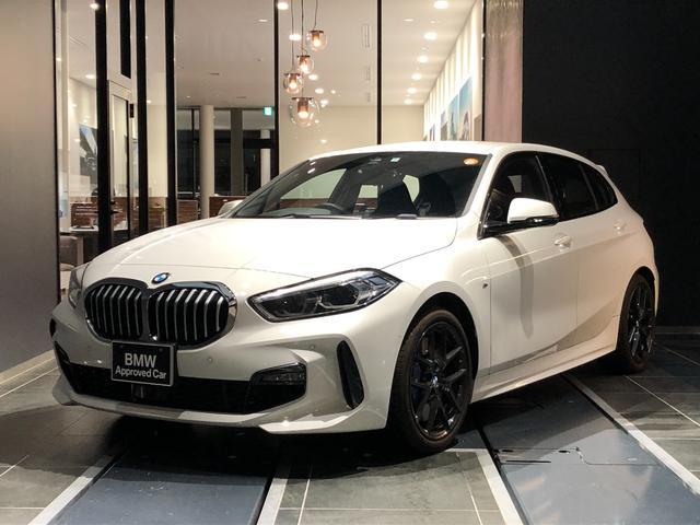 BMW 1シリーズ 118i Mスポーツ 正規認定中古車 弊社デモカー コンフォートアクセス ACC インテリジェントセーフティー オートトランク アンビエントライト ワイヤレス充電 アルカンターラ手動シート バックカメラ 前後センサー