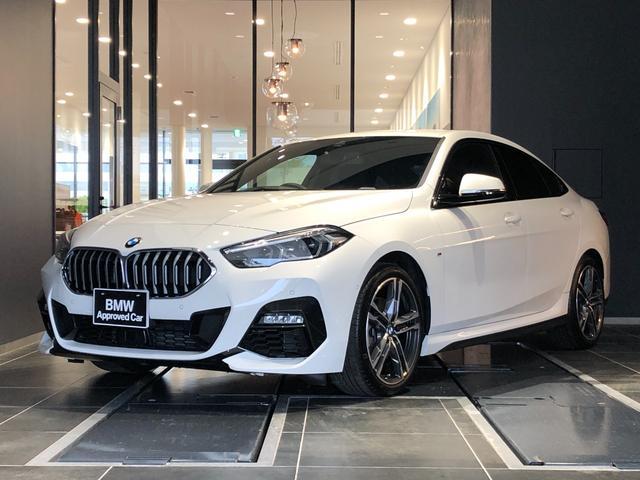 BMW 218iグランクーペ Mスポーツ 正規認定中古車 1オーナー 禁煙車 走行1,500km ACC ワイヤレスチャージ LED インテリジェントセーフティ バックカメラ パーキングアシスト 後退アシスト アンビエントライト