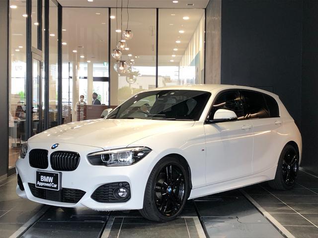BMW 118i Mスポーツ エディションシャドー 特別仕様車 アップグレードパッケージ HiFiスピーカー 電動シート 全方位センサー ブラックレザー シートヒーター ACC バックカメラ コンフォートアクセス 禁煙 弊社下取り管理車両