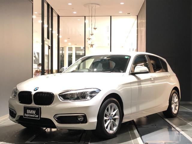BMW 118d スタイル 白革ハーフレザーシート ブラックキドニーグリル インテリジェントセーフティー CD/DVD マルチファンクションステアリング LED 16インチアルミホイール 後方センサー バックカメラ 禁煙車
