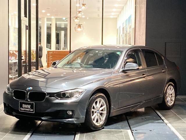 BMW 3シリーズ 320i 弊社下取り 社外ドラレコ コンフォートアクセス ミラーETC CD/DVD バックカメラ 後方センサー マルチファンクションステアリング LIM 黒布パワーシート Bluetooth USB